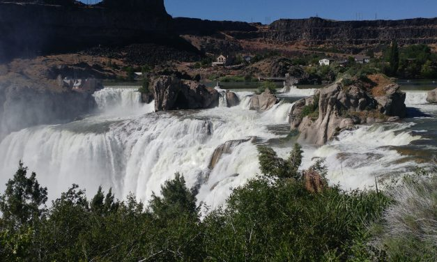Twin Falls – boondocking in Walmart