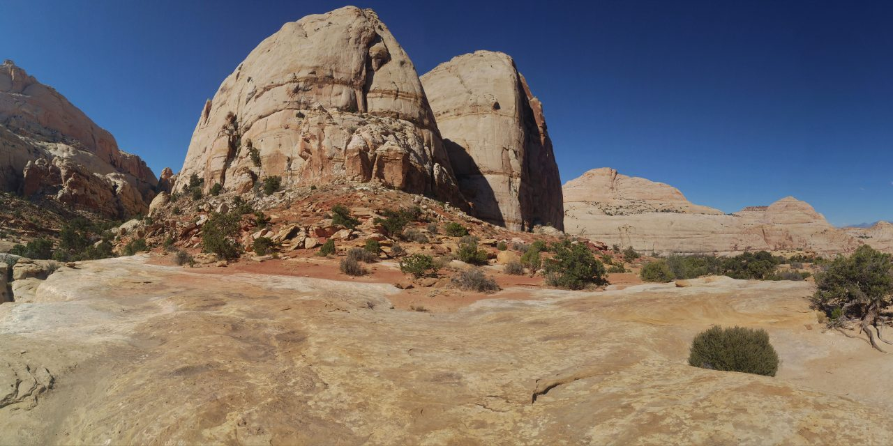 Capitol Reef Rim Overlook trail