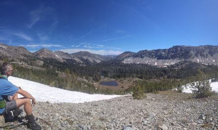 Second backpack – Baker Creek /Prairie Lakes loop