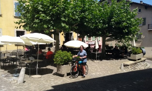 Cycle from Aproz to Sallion