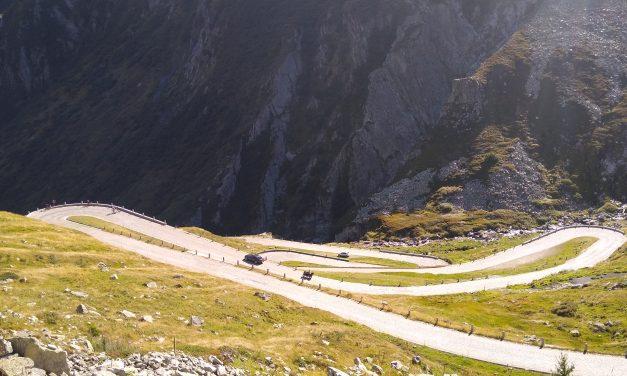 Furka & Gotthard Pass cycle 4 Sept