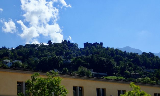 Airolo to Bellinzona cycle 5 Sept