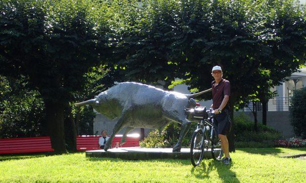 Bellinzona to Bedano cycle 6 Sept