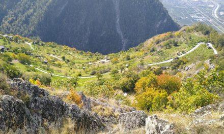 Voie des Érables hike (Riddes to Isérables)